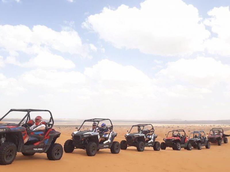 Merzouga buggies and quads