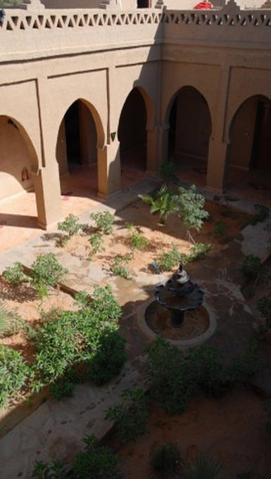 patio marroquí