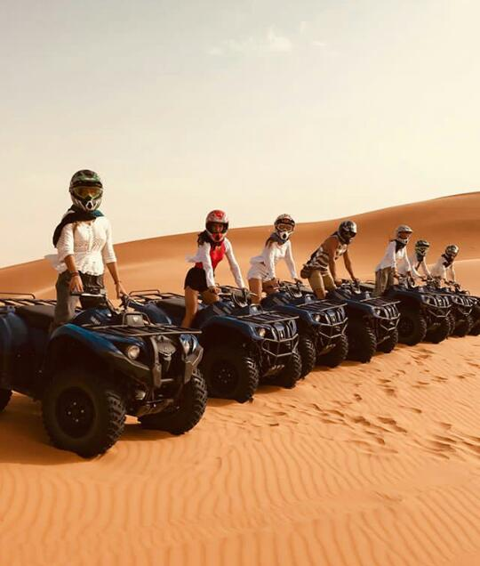 Quad Excursions In Merzouga