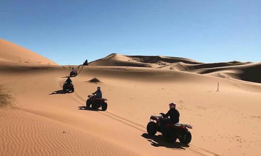 Rutas y alquiler de Quads por el desierto de Marruecos