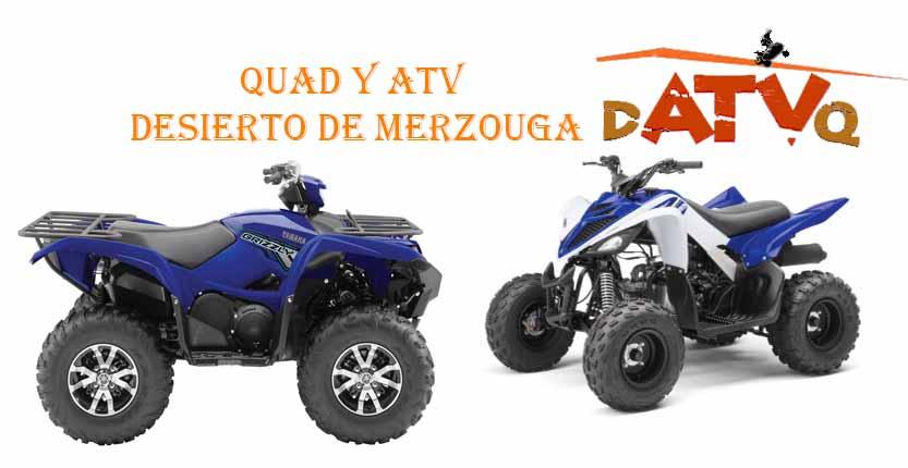 quad y atv para el desierto de Merzouga