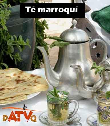 te marroquí del hotel Ridad Mamouche