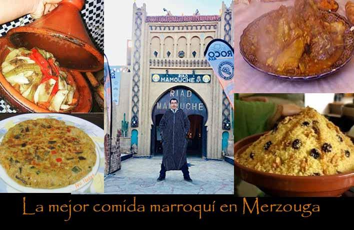 La mejor comida marroquí en Merzouga
