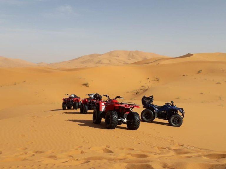 rutas de quads por Merzouga