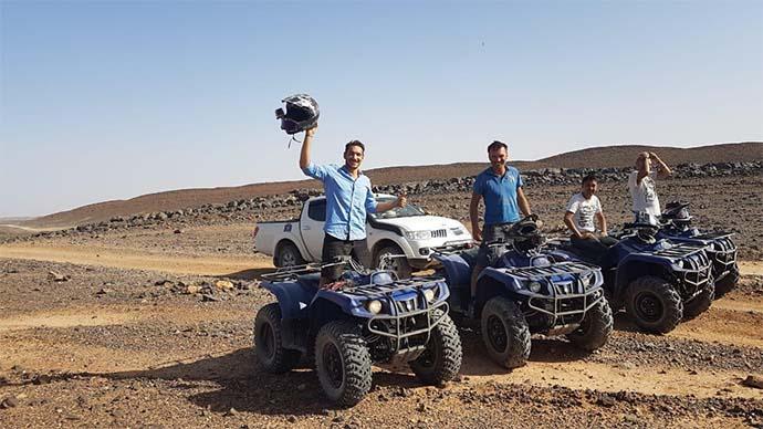 course de quad pour le sahara