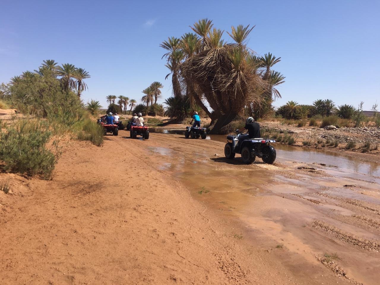 rutas en Quads por Merzouga