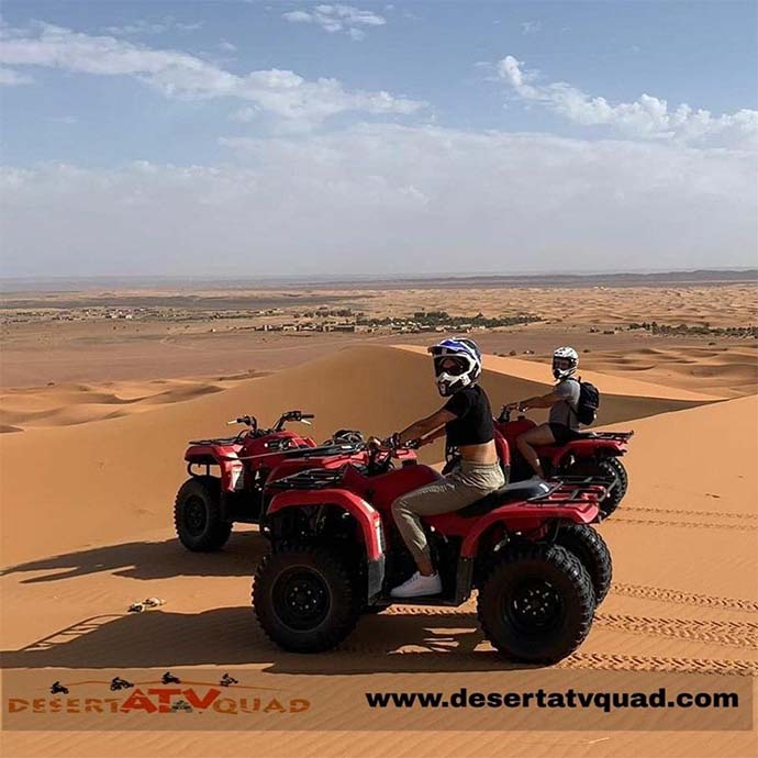 wonderful quad experien in merzougace