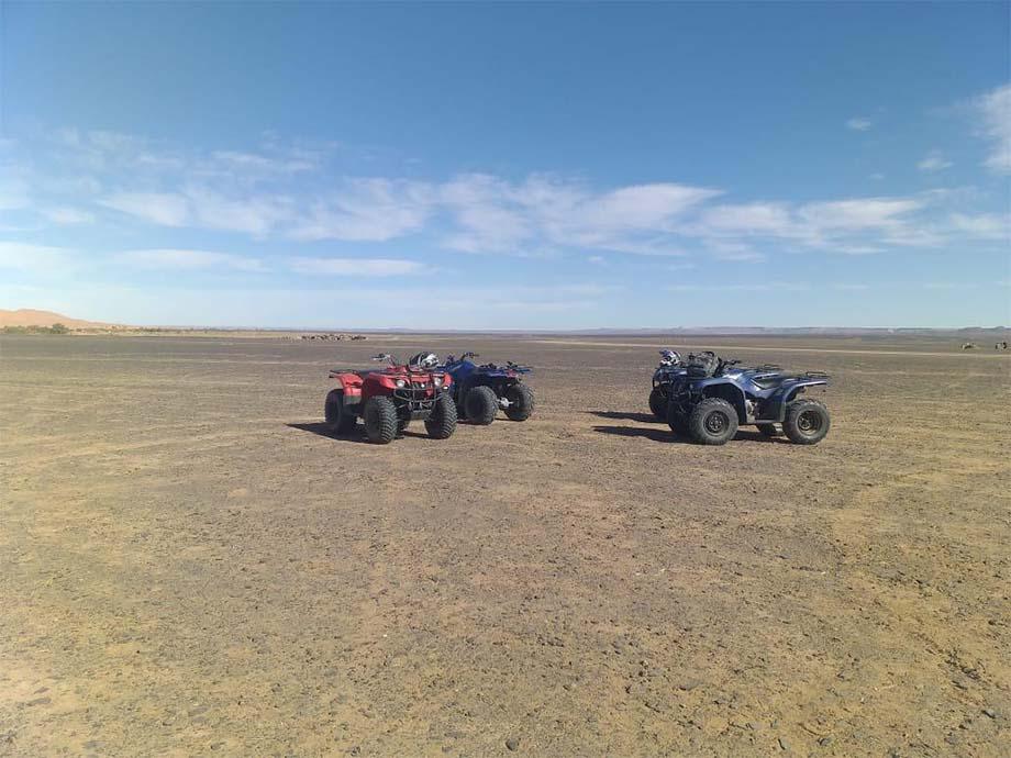 Quads travel in morroco