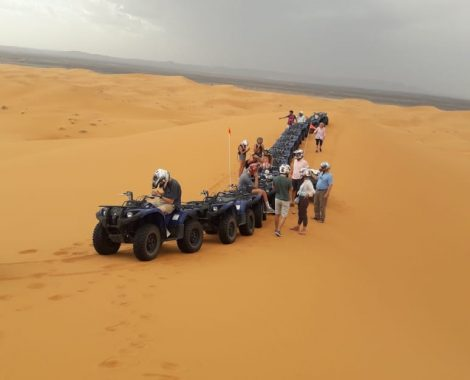 excursiones en quad por Erg Chebbi