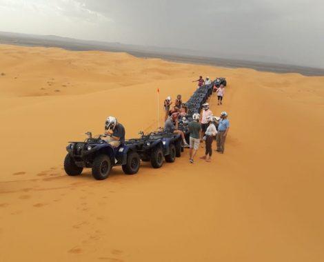excursiones en quad por Erg Chebbi